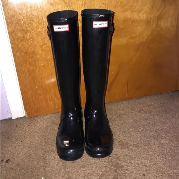 6c798a6aaf8 Classic Tall Hunter Rain Boots w/ 2 pairs of socks